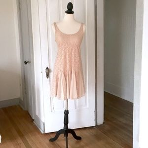 "Anthropologie ""Chantilly Chemise"" Pinkerton Dress"
